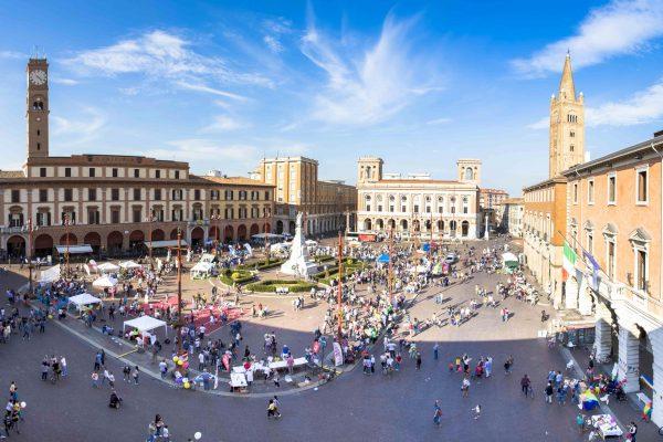 Piazza Saffi a Forlì